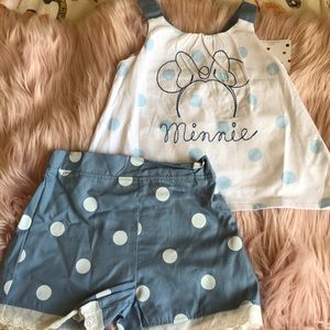 Minnie Mouse Matching set for girls